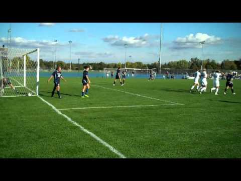 9/29/2010 - Soccer Scores Four Goals vs. UW-Stout