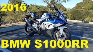 5. First Ride Impressions - 2016 BMW S1000RR