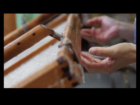 Making Handmade Paper the Japanese Way