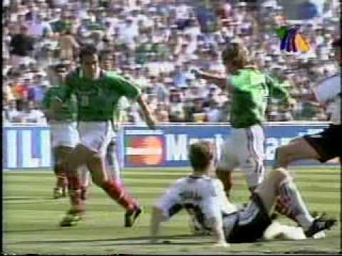 MEXICO VS ALEMANIA OCTAVOS DE FINAL FRANCIA 98