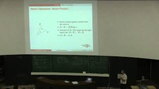 Mechanics I - Week 2 - Lecture 2 -