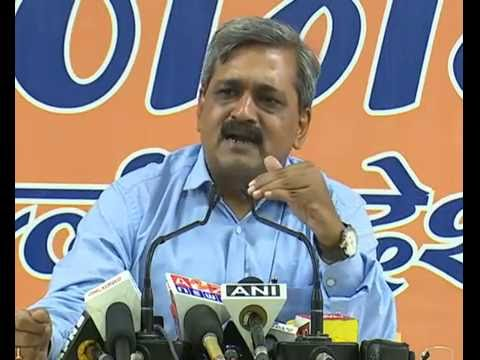 Press Conference by Shri Satish Upadhyay at BJP Delhi State : 01.08.2016