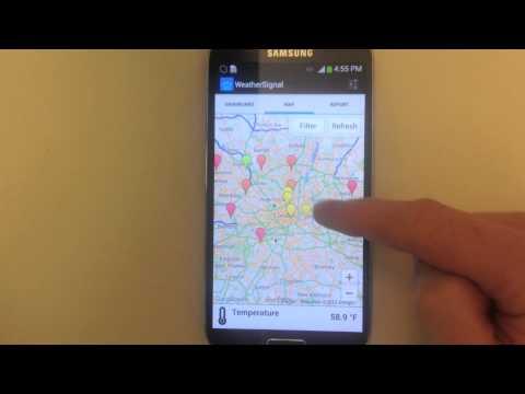 Video of WeatherSignal