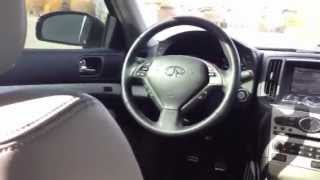 2008 Infiniti G35S Interior Critique