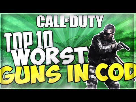 worst; - COD Ghosts: Top 10 Worst Guns In COD! - COD Ghosts - Don't forget to leave a