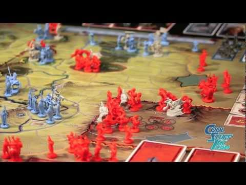 Lord Of The Rings Strategy Game Cardboard Figures