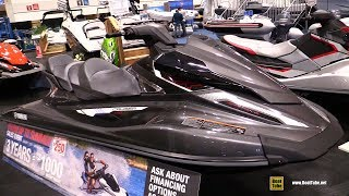 8. 2017 Yamaha VX Cruiser HO Jet Ski - Walkaround - 2017 Toronto Boat Show