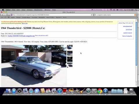 Craigslist Riverside County - Used Car Searches Under $700 Possible