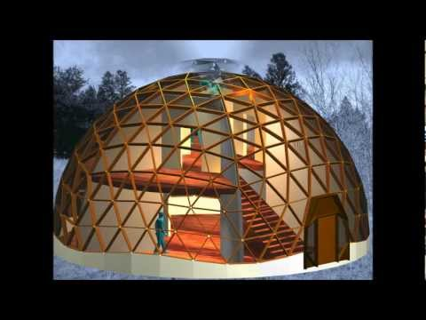A Class I 6-frequency Geodesic Dome Structure Constructed with