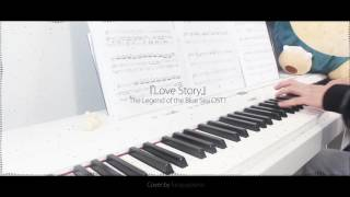 The Legend of the Blue Sea OST 1 - Love Story by Lyn - piano cover w/ sheet music Video