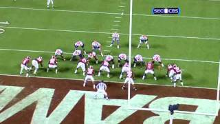 Mark Barron vs South Carolina and Florida