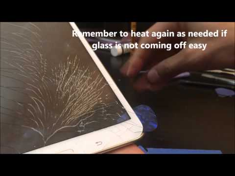 How to replace Samsung Tab 4 Screen digitizer