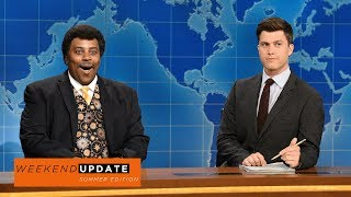Neil deGrasse Tyson (Kenan Thompson) provides his tips on how to fully enjoy the impending solar eclipse.Get more SNL: http://www.nbc.com/saturday-night-liveFull Episodes: http://www.nbc.com/saturday-night-liv...Like SNL: https://www.facebook.com/snlFollow SNL: https://twitter.com/nbcsnlSNL Tumblr: http://nbcsnl.tumblr.com/SNL Instagram: http://instagram.com/nbcsnl SNL Pinterest: http://www.pinterest.com/nbcsnl/
