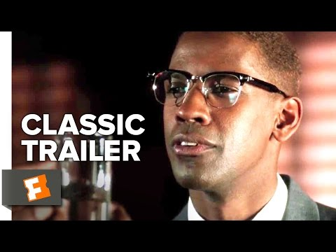 Malcolm X (1992) Official Trailer - Denzel Washington Movie HD