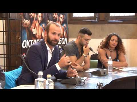 Conferenza Oktagon Bellator Firenze