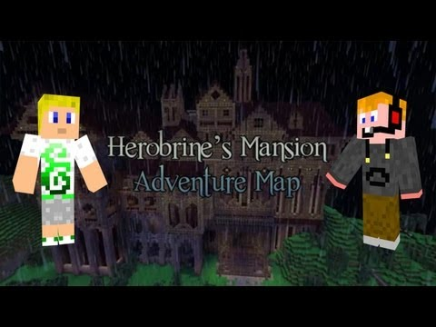 Vinmar & Zsdav - Herobrine's Mansion Adventure #1
