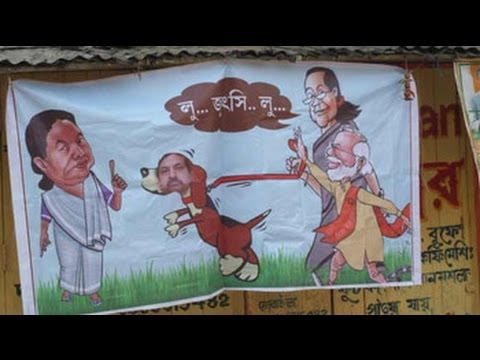 A poster in Mamata Banerjees Bengal that lampoons Election Commission