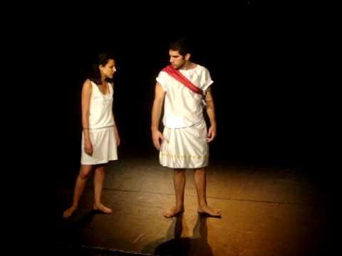 Extrait de l'acte IV scène 5 Horace de Corneille