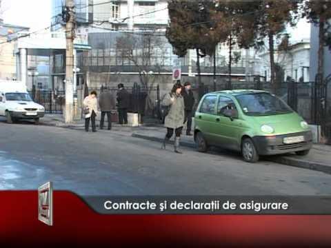 Contracte şi declaraţii de asigurare