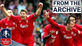 Video Incredible Gerrard Goal in Classic Final | Liverpool 3 - 3 West Ham (2006) | From The Archive MP3, 3GP, MP4, WEBM, AVI, FLV Februari 2019