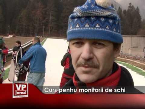 Curs pentru monitorii de schi