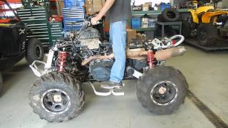 8. FOR PARTS ONLY 2009 CAN-AM ATV Renegade with 2007 800HO engine, runs great.