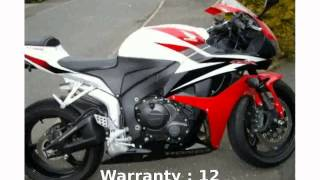 1. 2008 Honda CBR 600RR Walkaround & Specs [techracers]