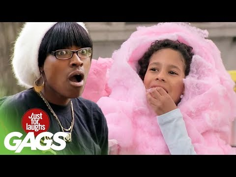 Cotton Candy Kid Prank