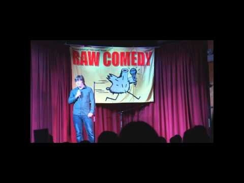 Damien Blackman RAW Comedy 2013 at the Sit Down Comedy Club