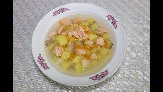Рыбный суп из форели, как просто приготовить