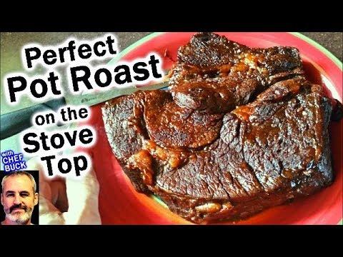 Perfect Pot Roast Recipe on the Stove Top