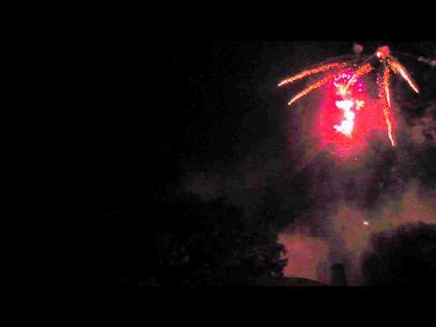 Feuerwerk Schloss Wulkow 01.07.11