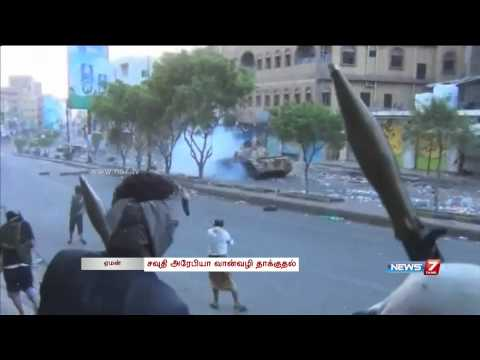 Yemen  Saudi-led air strikes killed at least 60 people in a day