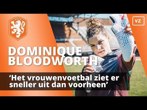 Dominique Bloodworth: 'Het vrouwenvoetbal ziet er sneller uit dan voorheen'