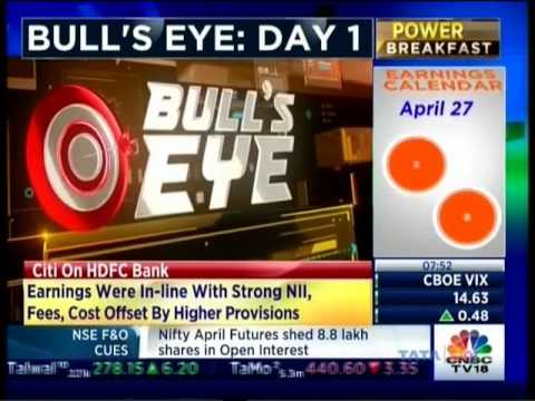CNBC Bulls Eye Day 1, 24 April 2017 - Mr. Sameet Chavan, Angel Broking