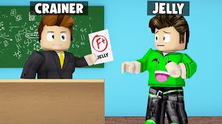 FAILING JELLY With A Bad Grade At SCHOOL! (Roblox)