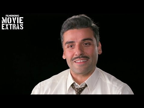 Suburbicon   On-set visit with Oscar Isaac - Roger