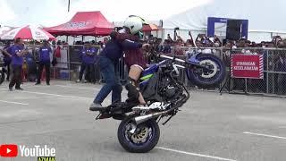 Video PART 3/4 YAMAHA Stunt Show by STUNTER WAWAN TEMBONG MP3, 3GP, MP4, WEBM, AVI, FLV Desember 2018