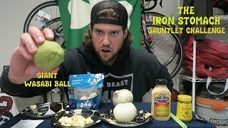 """NEW!! PATREON: Please Help Support My Future Goals....https://www.patreon.com/LABEASTOver the years, the L.A. BEAST has come face to face with some of the most GUT WRENCHING Foods on the Planet & the outcomes from consuming them have mostly resulted in him lying in pain on the bathroom floor hugging the toilet. Some have said that the L.A. BEAST has a stomach made of iron....including himself (In his Bananas & Sprite video) & today, he shall put his IRON STOMACH to the Ultimate Test by attempting to consume some of the most oddly spiced foods that you can pick up at your local supermarket. All he must do is consume: 1. One jar of Coleman's Spicy English Mustard2. Drink an entire bottle of Sinus Clearing Horseradish using a straw3. Eat an Entire Onion without Crying4. Mentally Check out while devouring 20 stinging peeled Garlic cloves5. Come Face to Face with his Arch Nemesis WASABI & down an entire baseball size ball of it....burying his opponent once & for all!!!FYI: These foods are not SPICY like eating a hot pepper where the Capsaicin burns the inside of your mouth....It's more of a slight stinging burn in your mouth that travels down into the depths of your stomach & then sits there while it feels like your insides are boiling on a stove.Please sit back, relax, & enjoy!!Please Subscribe for More L.A. BEAST Antics:https://www.youtube.com/user/skippy62able   BRAND NEW L.A. BEAST T-SHIRTS & HOODIES!!!https://thrilled.com/brands/labeastNEW!!! Get your L.A. BEAST """"Have A Good Day"""" Sticker here:http://mkstk.co/labeastFollow My Daily Vlogs.... I swear A Lot. They are Funny. That is all.https://www.youtube.com/channel/UCrfgIZx8kunMJdu0OZupgFA  Download """"The Crystal Pepsi Song"""" by clicking link below:https://itunes.apple.com/us/album/crystal-pepsi-song-feat.-thats/id1024817772?i=1024817779&ign-mpt=uo%3D4T-SHIRTS: http://labeast.spreadshirt.com/?nocache=trueSNAPCHAT. LABEAST62INSTAGRAM: http://www.instagram.com/labeast62/#TWITTER: https://twitter.com/#!/KevLAbeastFACEBOOK"""