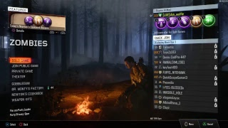 Welcome to my channel. Hope you enjoy my multiplayer & zombies livestreams. Please leave a like and subscribe if you do.