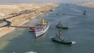 Suez Egypt  City pictures : Egypt opens historic expansion of Suez Canal