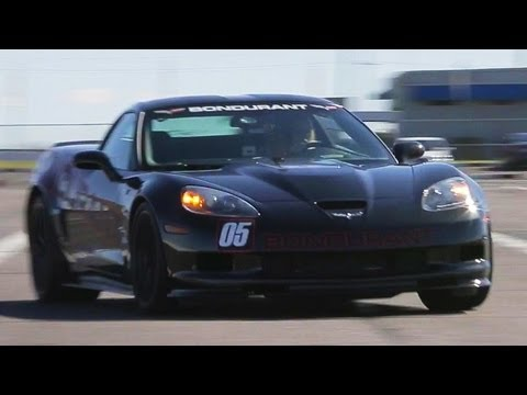 Taming the 2013 Corvette ZR1 at Bondurant! - The J-Turn Episode 2