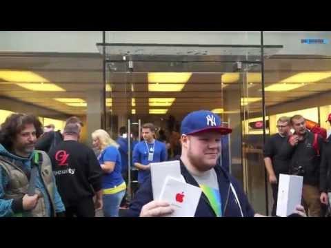 Apple store - iPhone 6 Verkaufsstart @ Apple Store Munich Rosenstrasse beim Marienplatz. Nachdem wir schon am Abend eine Schlange bis ausserhalb der Sichtweite des Apple S...