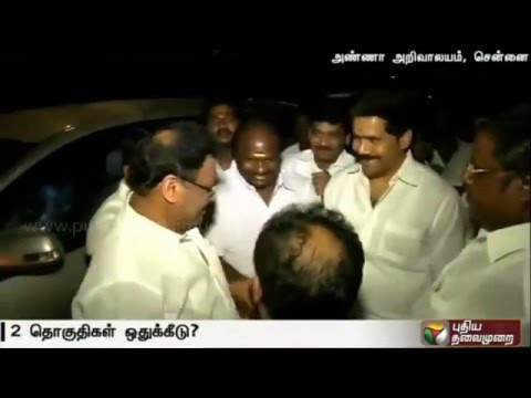 DMDK-dissident-MLA-Chandrakumar-meets-Karunanidhi-at-his-residence