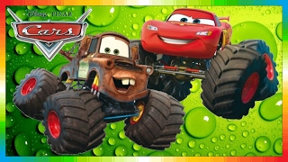 CARS - Mater International - Hook International - Monstertruck with Lightning McQueen (The Cars)