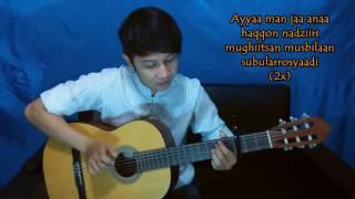 Cowok Jago Gitar Bawain Shalawat Sholatun Bissalamil Mubin