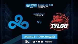 Cloud9 vs Tyloo - IEM Sydney XIII - map2 - de_overpass [yXo, ceh9]