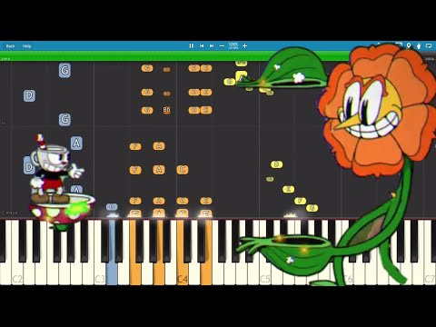 Video Cuphead - Floral Fury - Piano Remix - Cover / Tutorial download in MP3, 3GP, MP4, WEBM, AVI, FLV January 2017
