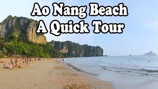 Ao Nang Beach and Noppharat Thara Beach, Krabi Thailand