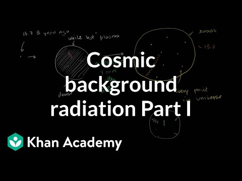 Cosmic background radiation | Scale of the universe | Cosmology & Astronomy | Khan Academy